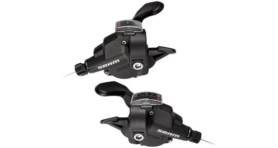 SRAM X4 Przerzutka Trigger Zestaw klamkomanetek 8 prędkości czarny